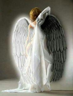 Half Angel half reaper..beautiful