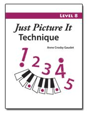 FREE Piano Teaching Aids 'Just Picture It Technique', 8 Levels to Download and Print.  I love using these!