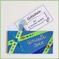 #Gutscheinbuch #basteln #Geschenkidee