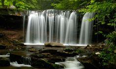 covered bridge with waterfall | Washington Photo Safari - Waterfalls and Covered Bridges: North ...