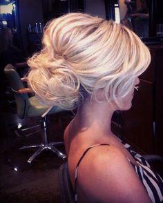 5 slightly rustic wedding updo hairstyles