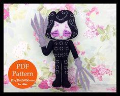 A personal favorite from my Etsy shop https://www.etsy.com/listing/236093959/edward-scissorhands-tim-burton-felt-doll