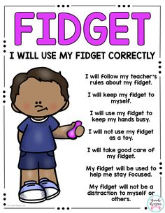 Social Story: Using a Fidget Fidget social story to teach students how to appropriately use a fidget in school. Great behavior management tool and for student that are identified special education or 504 for ADHD. Classroom Behavior Management, Behaviour Management, Behavior Plans, Behavior Charts, School Ot, School Social Work, Teaching Social Skills, Social Emotional Learning, Teaching Resources