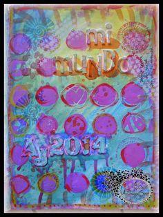 Pagina de mi Art journal