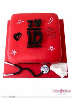 Stetoskop, tort urodzinowy, tort na urodziny, Tarnów