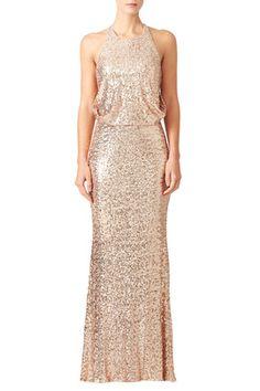 #whiterunway #dreamwedding Blush Maria Gown by Badgley Mischka