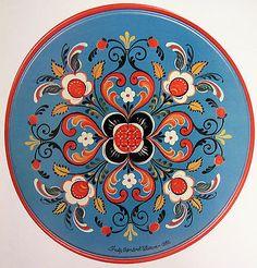 Old Rogaland Rosemaling Paint Pattern Book Trudy Sondrol Wasson Folk Art -Unused