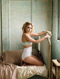 Love her... the vintage lingerie... the pose....the photograph...the lighting....the mood!!!!!! Everything xo
