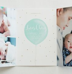 Sweet Birth announcements | Design, Births and Collage