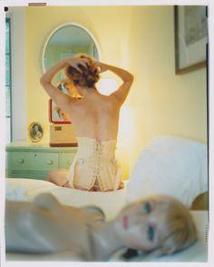 Asia Kepka #boudoir #selfportrait #mannequin #photography #vanity #bedroom