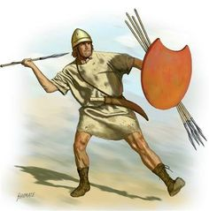 THE LIGHT INFANTRY OF ALEXANDER THE GREAT'S CAMPAIGNS - THE PELTAST (ARTWORK BY JOHNNY SHUMATE)