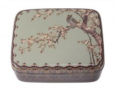 A Japanese Namikawa Cloisonné Enamel Box and Cover : Lot 321