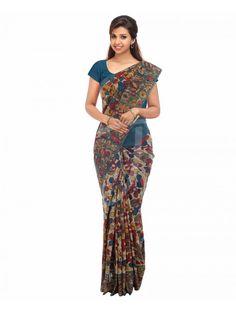 Designer cotton sarees by beena kannan seematti seematti beena kannan designer fashion Fashion founder style designer chikoo saree