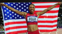 Allyson Felix of the United States won a gold medal in 200-meter dash finishing 1st in a time of 21.88 seconds at the London Games on Wednesday, August 8, 2012. Shelly-Ann Fraser-Price of Jamaica came in 2nd with a time of 22.09 seconds to take the silver, with Carmelita Jeter of the United States   finishing third in 22.14 seconds to take the bronze. Allyson Felix won the gold on her third attempt after finishing 2nd in the Olympic 200-meter dash in 2004 and 2008.