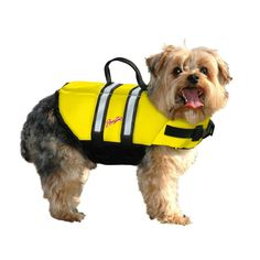 Pawz Pet Products PP-ZY1400 Nylon Dog Life Jacket
