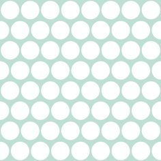 white on aqua polka dot fabric by scrummy on Spoonflower - custom fabric