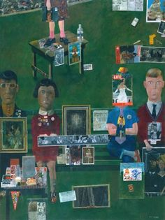 British Pop Art artist, Peter Blake