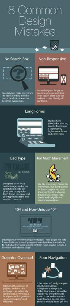 8 Common Design Mistakes That Drive Visitors Crazy