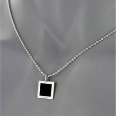 Minimaliste résine necklace - Coté Mecs