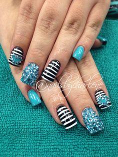 Nail art acrylic nail designs