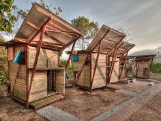 bambus mobile häuser TYIN Tegnestue thailand