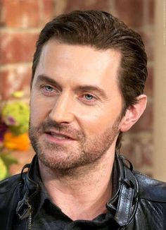 Sharing an AMAZING Triple Chocolate cake with Richard Crispin Armitage.