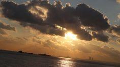 Sunset time on the Bosporus