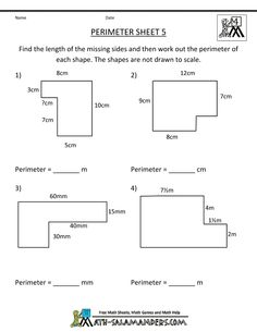 10 Circumference, Area, Perimeter, Volume on Pinterest | Surface Area ...