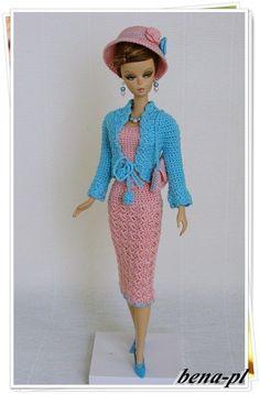 bena-pl Clothes for FR Victoire Roux, Silkstone & Vintage Barbie OOAK outfit in Dolls & Bears, Dolls, Art Dolls-OOAK, OOAK Doll Clothing | eBay
