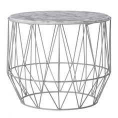 table basse marbre et metal bloomingville table basse ronde blanche marbre vert table basse
