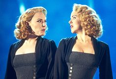 """Emily Skinner and Alice Ripley in """"Side Show"""""""