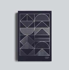 Inspired by the shapes and facades of the city, onedesignspace translated these shapes into a set of patterns for a series of metallic art prints. /