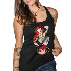 Available at www.inkedshop.com! Check out this awesome new tank! Get it by clicking link in bio! #inkedshop #brandnew #jessicarabbit