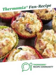 Recipe lchf savoury muffins (sam wood) by thermo-envy, learn to make this recipe easily in your kitchen machine and discover other Thermomix recipes in Baking - savoury. Cheese Sausage, Sausage Rolls, Spinach Puff Pastry, Sam Wood, Cooking Recipes, Healthy Recipes, Healthy Food, Lchf, Thermomix
