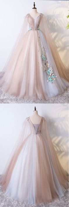 Champagne Tulle Long Prom Dress,Champagne Tulle Evening Dress Champagne tulle Long evening dress, champagne tulle evening dress from Storenvy Senior Prom Dresses, Tulle Prom Dress, Lace Evening Dresses, Lace Dress, Evening Gowns, Evening Party, Party Dresses, Wedding Dresses, Trendy Dresses