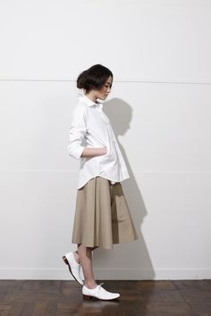 White and khaki for winter....love