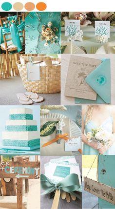 Beach Wedding Table Decoration Ideas