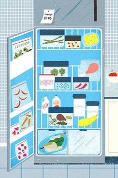 "THE BEST ""NON-DIET"" TIP WE'VE EVER HEARD...fr...Oprah. How to rearrange your refrigerator, to prompt healthier food choices. DIY- Health."