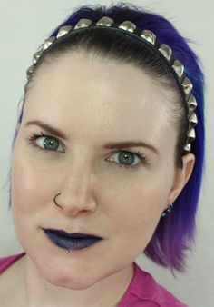 Kat Von D Studded Kiss Lipstick in Poe