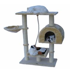 Go Pet Club 36-inch Cat Tree Condo Furniture #GoPetClub  EBay  Overall size: 36 inches high x 40 inches wide x 12 inches long  $52.99 Free Shipping