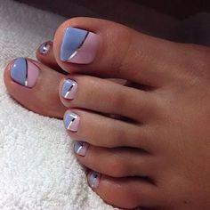 Pretty Toe Nails, Cute Toe Nails, Gel Nails, Pretty Toes, Acrylic Nails, Gel Toes, Pointy Nails, Cute Toes, Jamberry Nails