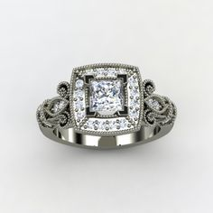 Dauphine Ring- I don't wear jewelry but this one sure is pretty if I did.