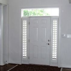 Side Lights Love The Idea Of Using Shutters More Front Doors
