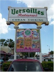 Versailles Restaurant Little Havana, Miami, Florida. The Cuban food center of Miami