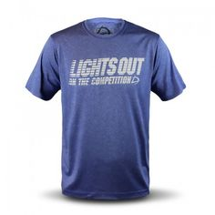 Men's LIGHTS OUT® Royal Blue Performance Tee