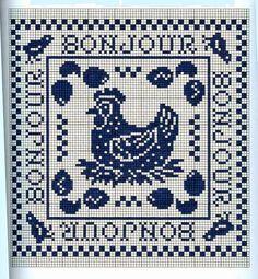 Punto croce - Schemi Gratis e Tutorial: Raccolta schemi monocolore