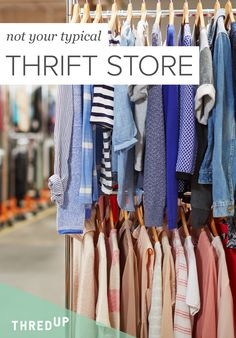 You searched. You scored. You saved. At thredUP, you always get the thrill of thrifting. Shop high-quality secondhand clothes from thousands of brands, like Madewell, Ann Taylor, and Tory Burch. And you always save up to 90% off the retail price. It's just that kind of thrill. Sign up today to get an additional 20% off your first order!