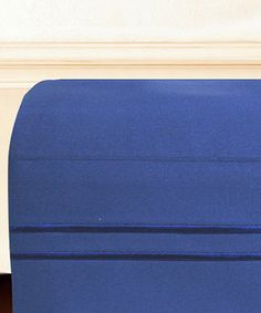 Look what I found on #zulily! Navy Bellissimo Hotel Stripe Sheet Set #zulilyfinds