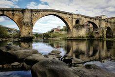 puente romano Orense, Spain