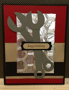 Stampin Up Punch Art   Details about Tool Punch Art Card Stampin' Up! Happy Birthday/Fathe rs ...